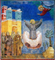 Giotto - L'estasi di San Francesco. Assisi, Basilica superiore di San Francesco   Flickr - Photo Sharing!