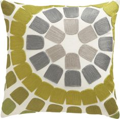 titanium + bright chartreuse pillow (from Crate & Barrel). : titanium + bright chartreuse pillow (from Crate & Barrel). Best Leather Sofa, Leather Pillow, Sofa Pillows, Accent Pillows, Throw Pillows, Pillow Dress, Pillow Room, E Design, Crate And Barrel