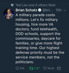 A military parade costs millions. The money could be better spent elsewhere, not on not on boosting Putin's pick's ego and him desperately trying to make himself look legitimate—because that works so well for other third world banana Republics.