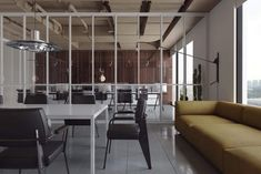 Stylish Office Decor Ideas For Your Workspace - 5 Min Ideas Modern Architecture House, Architecture Design, Futuristic Architecture, Modern Houses, Corporate Office Decor, Corporate Offices, Office Open Plan, Student House, Stylish Office
