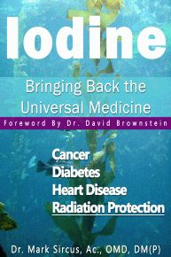 Iodine E-Book: Bringing Back the Universal Medicine Written by Mark Sircus, AC., OMD