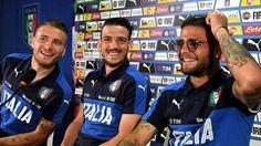 Ciro Immobile, Alessandro Florenzi e Lorenzo Insigne oggi in conferenza stampa…