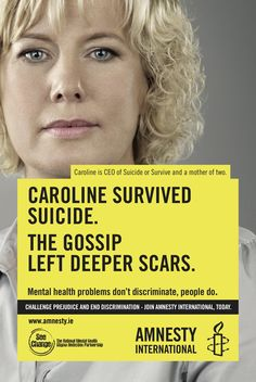 Gossip  Almost 50% of Americans will suffer one or more episodes of mental disorder that is severe enough a professional could diagnose it.  Why do we pretend it does not touch our lives in any way?