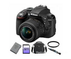 Aparate Foto DSLR. Nikon D3300 kit 18-55mm VR II   Reduceri Oferte si Promotii in Romania   Aparate Foto