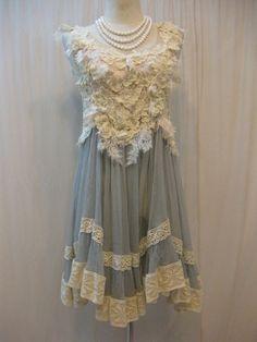 Custom Made Unique Pretty Chiffon Babydoll Bridesmaid by Madabby, $178.00