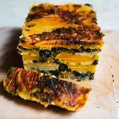 Nigel Slater's winter root veg recipes Swede and spinach loaf Swede Recipes, Vegetable Recipes, Vegetarian Recipes, Cooking Recipes, Healthy Recipes, Veggie Food, Vegetable Loaf Recipe, Vegetarian Roast, Turnip Recipes