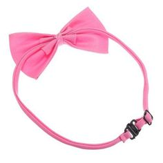 awesome KS SS Cat Collar et Dog Bow Tie Puppy Accessory Cute Deep pink