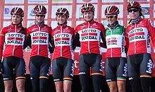 Lotto-Soudal Ladies Give luck a ability, play the lottery to beat the game.