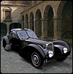 mistymorrning:    1938 Bugatti 57SC Atlantic Coupe