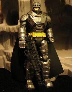 Toyriffic: Batman v Superman Battle Armor Batman :: I AM IRON-BATMAN! Iron Batman, Batman Stuff, Catwoman, Harley Quinn, Superman, Battle, Comic Books, Comics, Collection