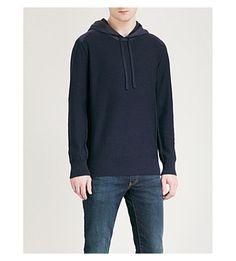 Canada Goose Ashcroft Wool Hoody In Navy Hoody, Canada Goose, Mens Fashion, Navy, Clothes, Shopping, Black, Style, Moda Masculina