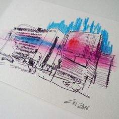 eine neue postcard of hamburg Postcards, Sketch, Christian, Urban, City, Instagram Posts, Pictures, Hamburg, Sketches