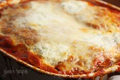 ... Lighter Eggplant Parmesan Gina's Weight Watcher Recipes Servings: 8