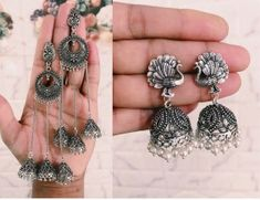 Jewelryclub - Shop from the latest collection of Earrings for women & girls online. Buy studs, ear cuff, drop & more Earrings at best price, COD. Metal Jewelry, Jewelry Art, Silver Jewelry, Antique Jewelry, Women's Earrings, Crochet Earrings, Buy Jewellery Online, Oxidised Jewellery, Girl Online