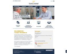 Die Website unseres Treuhänders Tschanz Treuhand AG in einem funkelnagelneuen Erscheinungsbild. http://www.tschanz-treuhand.ch/