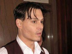johnny depp public enemies hairstyle