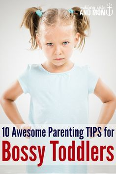 Dealing with a bossy toddler. When your toddler thinks he's the boss: Strategies that work.