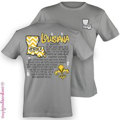 LOUISIANA Home Tshirt by SimplySouthernTees on Etsy, $19.99
