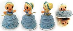 Cinderella doll that transforms from rags to riches!  Awesome!!! And it is a FREE pattern.