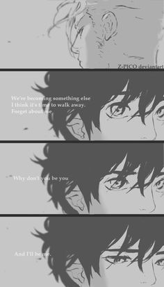 Let it go by Z-Pico.deviantart.com on @DeviantArt |  The Boy & The Wolf - Z Pico ; webcomic Available on: Tapastic (mobile app) Artist: Z Pico  Insta: @z.pico  Facebook Tumblr - Boys love / yaoi / manga / mangaka / anime / art / digital / shonen ai / the Boy and the wolf