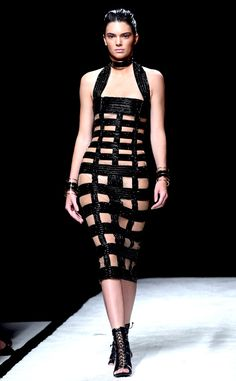 It doesn't get any better than Kendall Jenner in Balmain!