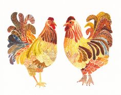 Two Chicken -Limited Edition Print.