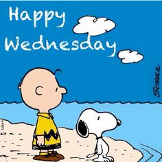 Weekend Quotes : Happy Wednesday - Quotes Sayings Happy Weekend Quotes, Happy Wednesday Quotes, Wednesday Humor, Happy Friday, Snoopy Love, Charlie Brown And Snoopy, Snoopy And Woodstock, Wednesday Greetings, Charlie Brown Characters