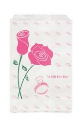 Paper Gift Bag-Rose    Price: $1.65/pack of 100
