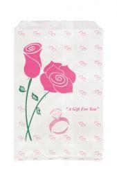 Paper Gift Bag-Rose    Price: $1.65/pack of 100