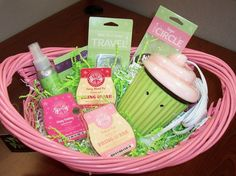 Happy Birthday Gift Basket!! A warmer, 3 bars, room spray, scent pak and scent circle