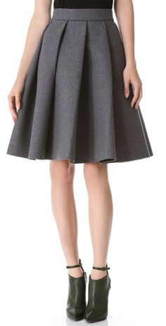 In love with this pleated skirt