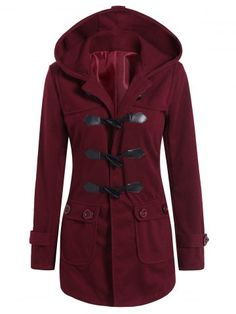 GET $50 NOW   Join RoseGal: Get YOUR $50 NOW!http://www.rosegal.com/coats/hooded-flap-pockets-duffled-coat-876544.html?seid=948764rg876544