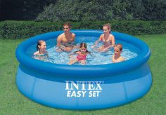 buy intex 10 x 30 above ground inflatable swimming pool - Hivernage Piscine Autoportee Intex