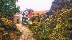 Kindheitserinnerungen – – hier: Quedlinburg.