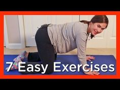 7 Easy Exercises for An Optimal Pregnancy & Labor