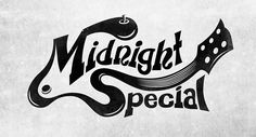 Logo Design: Midnight Special, a 60's and 70's Rock Cover band