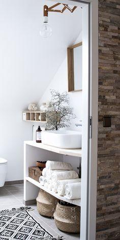 Garderobe Leder Holz heimatbaum.com-2