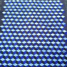 Håndsyet Thaisilke pachwork tæppe af Stine Elle Tech Companies, Company Logo, Logos, Handmade, Hand Made, Logo, Handarbeit