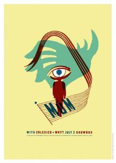 Mum and Calexico Concert Poster by Patent Pending
