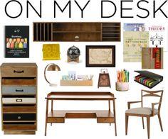 """On My Desk : Architect"" by kartika-ega on Polyvore"