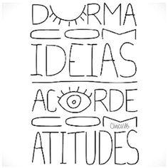 Durma com idéiasAcorde com atitudes!| Clinica e ConsultórioVB |  www.clinicavb.com.br  ClinicaVB3045-3220 WHATSAPP ...
