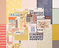Elmwood Park----love the colors and patterns in this kit from Studio Calico