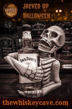 Happy Halloween from The Whiskey Cave Jack Daniels Bourbon, Jack Daniels Decor, Jack Daniels Logo, Jack Daniels Bottle, Whisky Jack, Jack Daniel's Tennessee Whiskey, Bourbon Drinks, Whiskey Cocktails, Scotch Whiskey