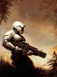 Science fiction future soldier in battle armor: halo has a direct relation to the Greece's history and the spartans are great promoters in classics.