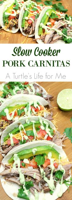 This is the easiest recipe ever for juicy, flavorful pork carnitas! You'll want to add this to your regular menu!