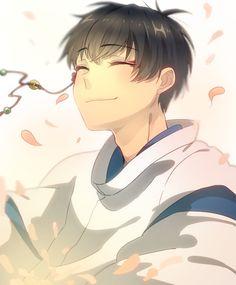 Hoozuki no Reitetsu. Is he dressed as Haku (Spirited Away)? Old Anime, Anime Art, Moss Art, Cool Sketches, I Love Anime, Fujoshi, Low Key, Anime Style, Studio Ghibli