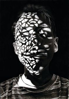 "boudhabar: "" Light and shadow in drawings by Dylan Andrews """