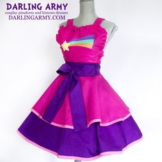 Mabel Pines Gravity Falls Cosplay Pinafore by DarlingArmy.deviantart.com on @DeviantArt