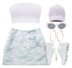 """Mini"" by oh-aurora ❤ liked on Polyvore featuring Vans, Forever 21, Jennifer Fisher and NIKE"