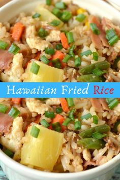Hawaiian Fried Rice #Hawaiian #Fried #Rice #recipe